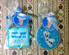 Biscoito Decorado Frozen