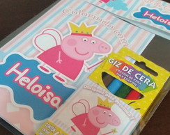 Mini Kit Colorir - Peppa Pig