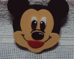 Mini Aplique Minnie e Mickey