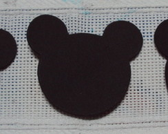 Mini Aplique Minnie e Mickey 2