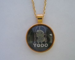 "Colar Round ""You Only Die Once - Dourado"