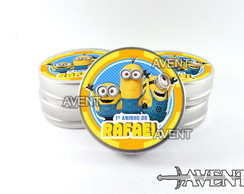 Latinha mint to be Minions modelo 2