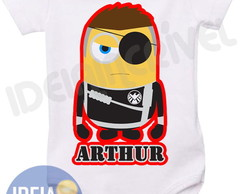 Body Minion Vingadores Nick Fury