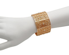 Bracelete Arabesco e Strass