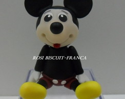 Lembrancinha de biscuit do Mickey