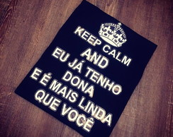 Camiseta Keep Calm