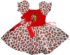 Vestido Moranguinho Baby Estamp Collant