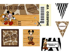 KIT DIGITAL PERSONALIZADO MICKEY
