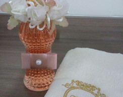 Home Spray+toalha de lavabo bordada