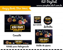 Kit Digital Angry Birds Star Wars