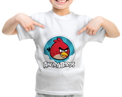 Camiseta Angry Birds Red