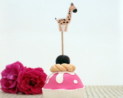 Toppers para doces - baby safari A3