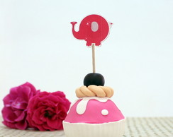 Toppers para doces - baby safari A7