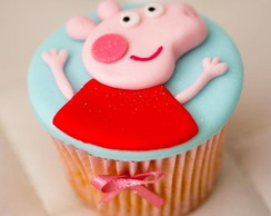 Cupcake Decorado Peppa Pig