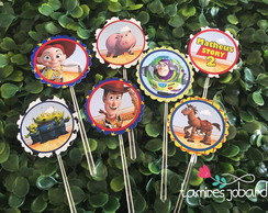 Topper Para Doces -Toy Story
