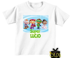 Camiseta Personalizada Super Why