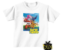 Camiseta Personalizada Super Wings