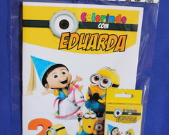 Revista Para Colorir KIT MINIONS