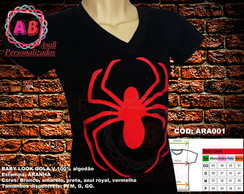 Baby look e camiseta Homen aranha