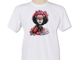 Camiseta Personaliza | Mulher Floral