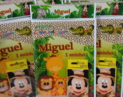 Kit Colorir Do Mickey safari