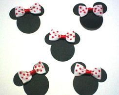 50 Mickey Minnie Papel Para Scrapbook- D