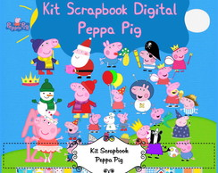 Peppa Pig Kit Digital Completo