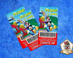 Convite VIP A CASA DO MICKEY