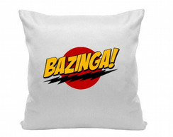 Almofada 30x30cm bazinga big bang theory