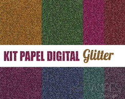 Kit papel digital Glitter 1