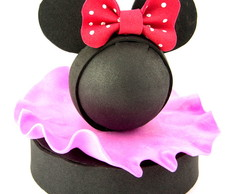 Mini Topo de bolo Minnie Mouse