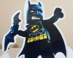 Display De Mesa Em Papel Batman Lego
