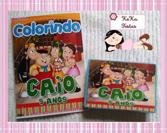 Kit colorir Chaves