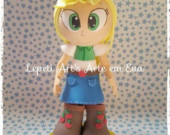 Fofucha Equestria Girls Apple jack