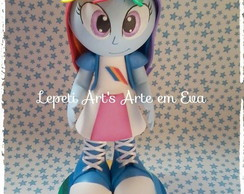 Fofucha Equestria Girls Rainbow Dash
