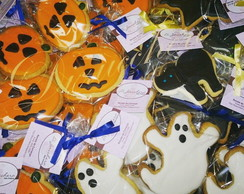 Biscoito decorado Halloween