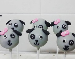 cakepop cachorrinho