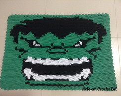 Tapete Croche Personagem Hulk