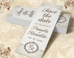 Marcador de Livro Save The Date - 00287