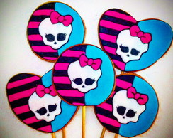 Bolachas Decoradas Monster High