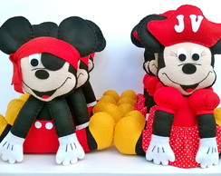 Mickey e Minnie Pirata