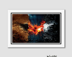 Quadro 60x40cm Filme Batman Dark Knight