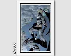 Quadro Jim Lee Comics Dc Batman 60x40cm N7 Decorativo Quarto