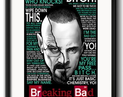 Quadro Exclusivo Breaking Bad Paspatur