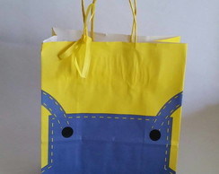 Sacolas Kraft Personagens Disney
