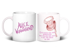 Caneca - Alice In Wonderland