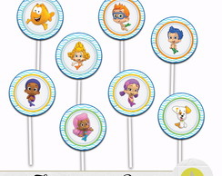 TOPPER PARA DOCE BUBBLE GUPPIES
