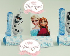 "Porta Chocolate Duplo "" FROZEN"""