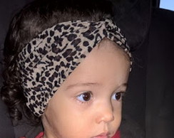 Turbante Baby Onça
