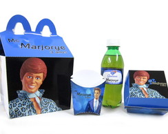 5 Kit´s Mc Donald´s Personalizados - Ken